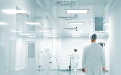 Nemocnice, laboratóriá a klimatizácia v čistých priestoroch