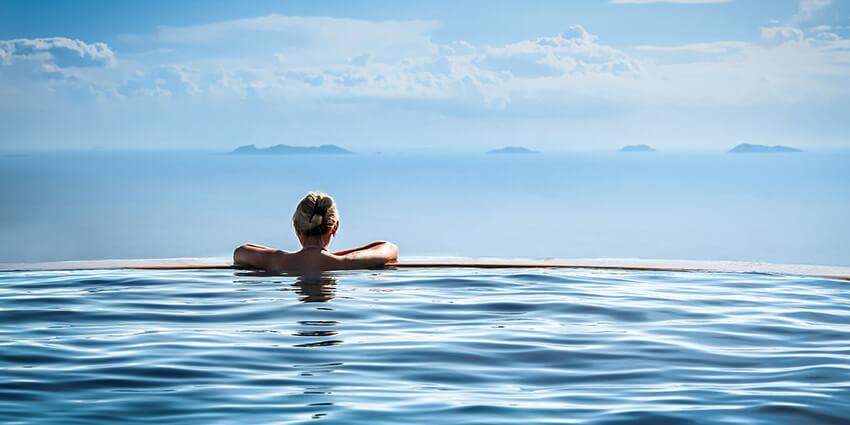 Diskomfort vo wellness a krytých bazénoch