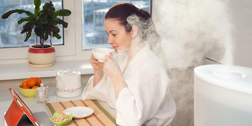 Zvlhčovač vzduchu do domácnosti pre lepšie dýchanie a zdravšiu domácnosť